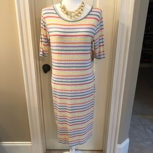 NWT LuLaRoe Striped Julia Dress